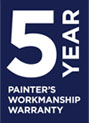 painters workmanship warranty